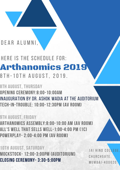 Invites Alumni